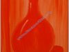 O_15-Botella_monocromatica_naranja_35_x_27cm.Oleo_sobre_lie
